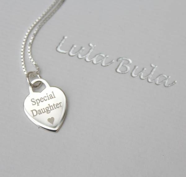 Engraved jewellery gift necklace - FREE ENGRAVING
